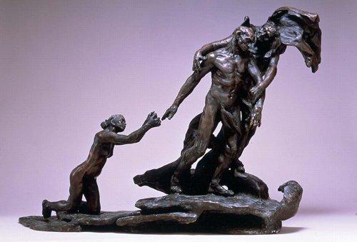 L'age mur par Camille Claudel
