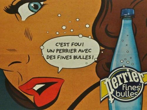 Affiche Perrier Lichtenstein