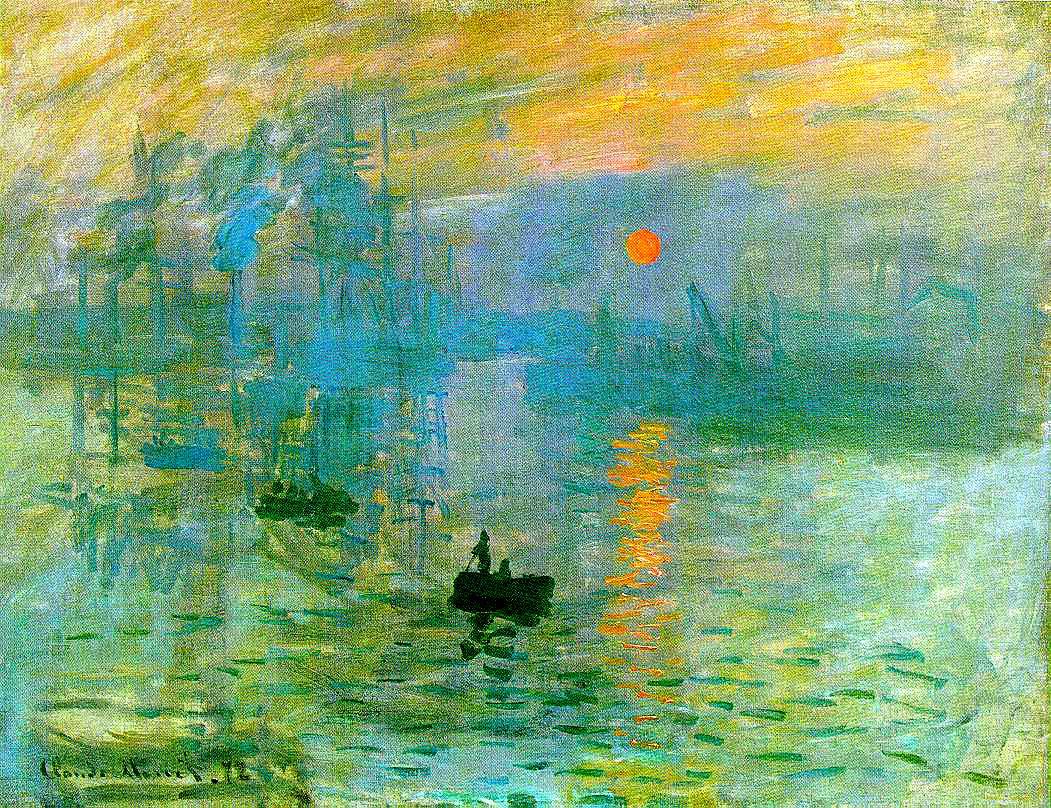 Soleil levant - Claude Monet