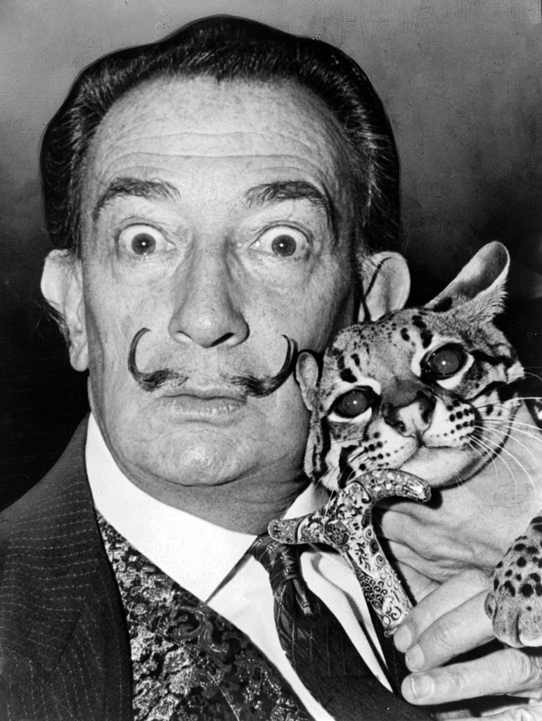 Le grand DALI himself