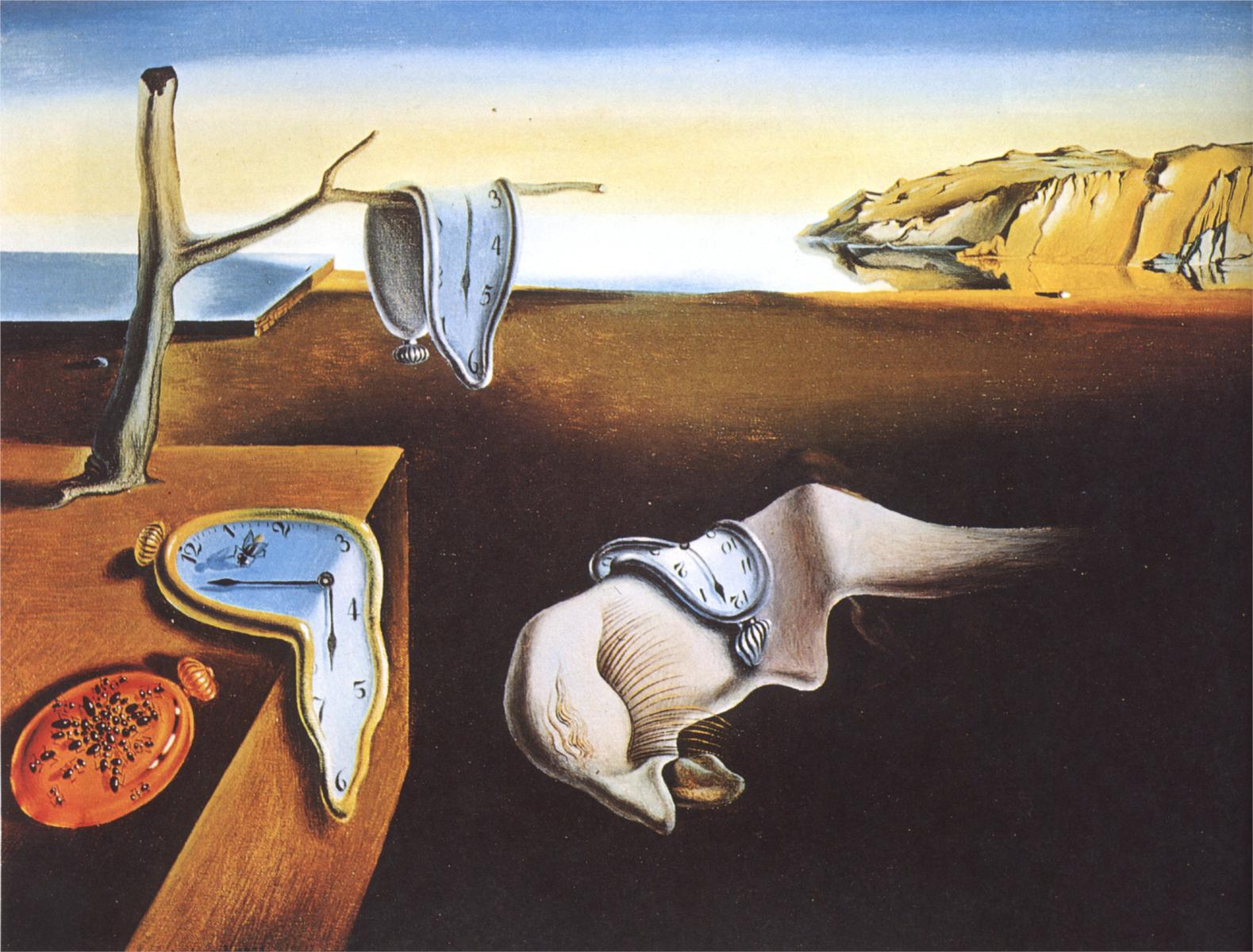 Salvador Dali The-Persistence-of-Memory 1931
