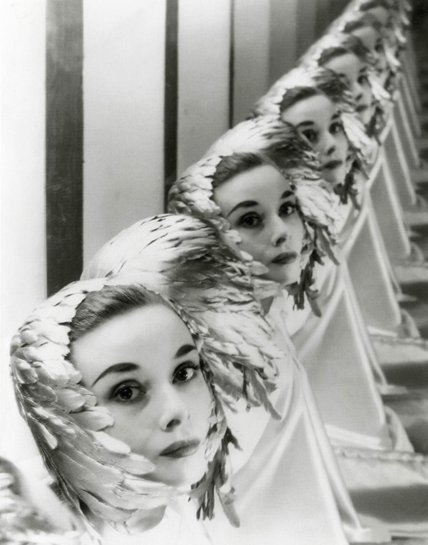Audrey Heburn par Erwin Blumenfeld