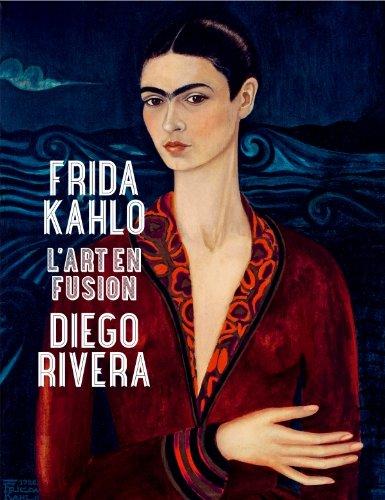 1ère de couverture Frida Kahlo et Diego Riviera, l'ar t en fusion