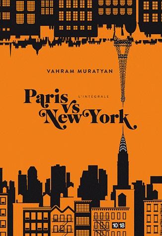 1ère de couverture Paris New-York l'intégrale