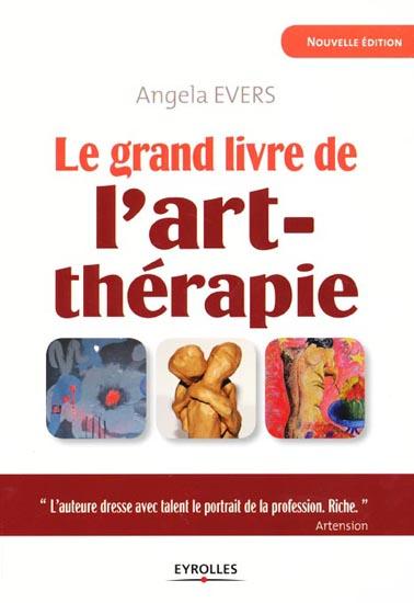 1ère de couverture le grand livre de l'art thérapie