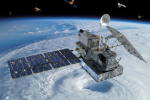 Le satellite Nasa-Jaxa Global Precipitation Measurement Core Observatory          © NASA