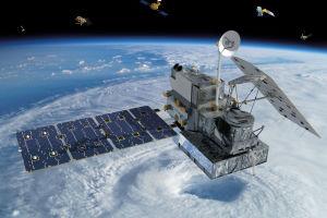 Le satellite Nasa-Jaxa Global Precipitation Measurement Core Observatory          © NASA